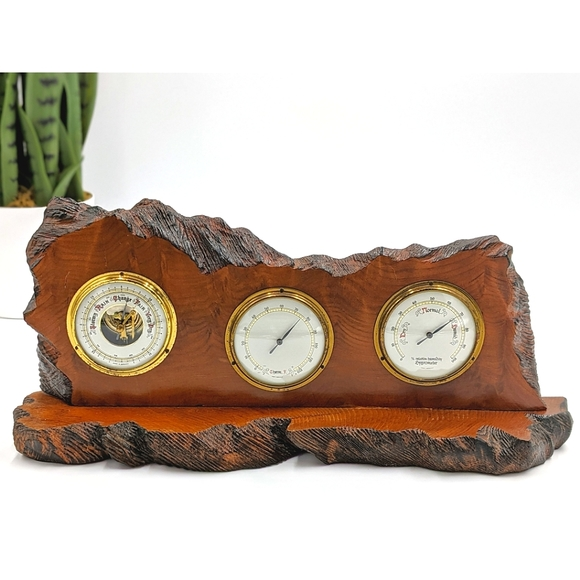 ✨SOLD✨ VTG Redwood Barometer W Germany Handmade